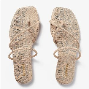 SOLD New Express sandals